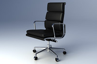 Eames Softpad Group Executive Chair
